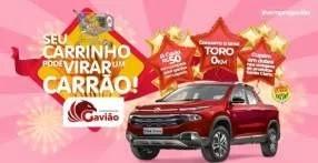 Promoção Gavião Supermercado Fiat Toro 0KM