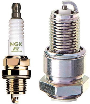 NGK Car Plugs: Solid Copper-Core Vehicle Spark Plug (BPR6ES) with High Alumina Ceramics for Heat Transfer