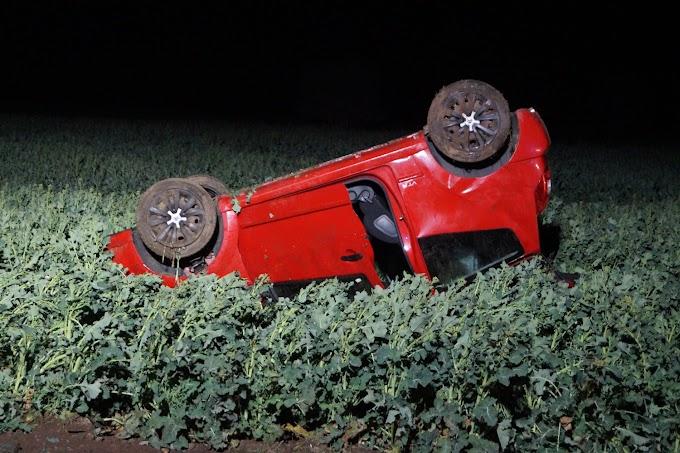 Mehrfach überschlagen: Schwerer Unfall auf der L141 bei Zörbig