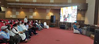 किसान सम्मेलन कार्यक्रम: मुख्यमंत्री ने सिंगल क्लिक कर राहत राशि की वितरित