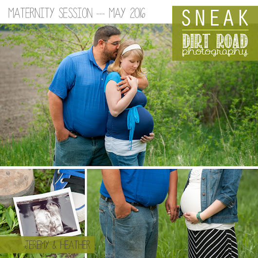 Maternity Session // Jeremy & Heather // Nebraska Photographer