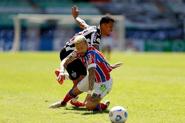 Bahia leva nova goleada e chega a três jogos seguidos sem vencer