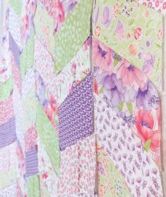 Garden Journal fabric by Nancy Archer for QT Fabrics