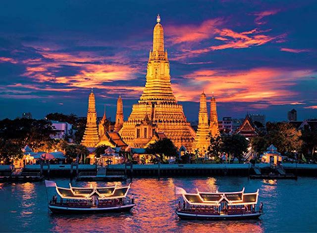 10 Destinasi Wisata  Di Bangkok Yang Wajib Dikunjungi - Wat Arun Temple
