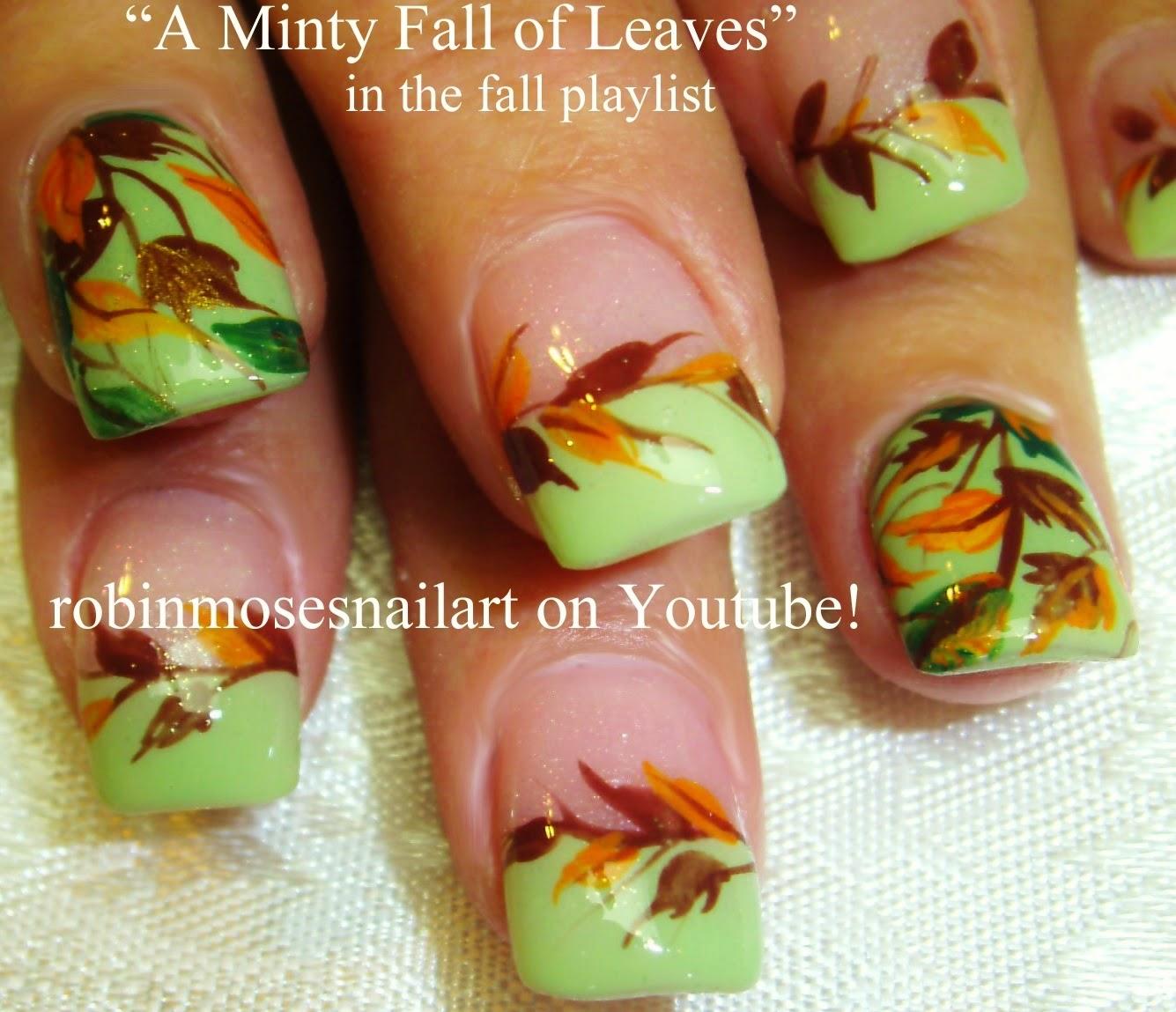 Nail Art By Robin Moses Fall Nails Autumn Nails Fall Nail Art