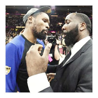 Kendrick Perkins desgarra al 'cobarde' Kevin Durant