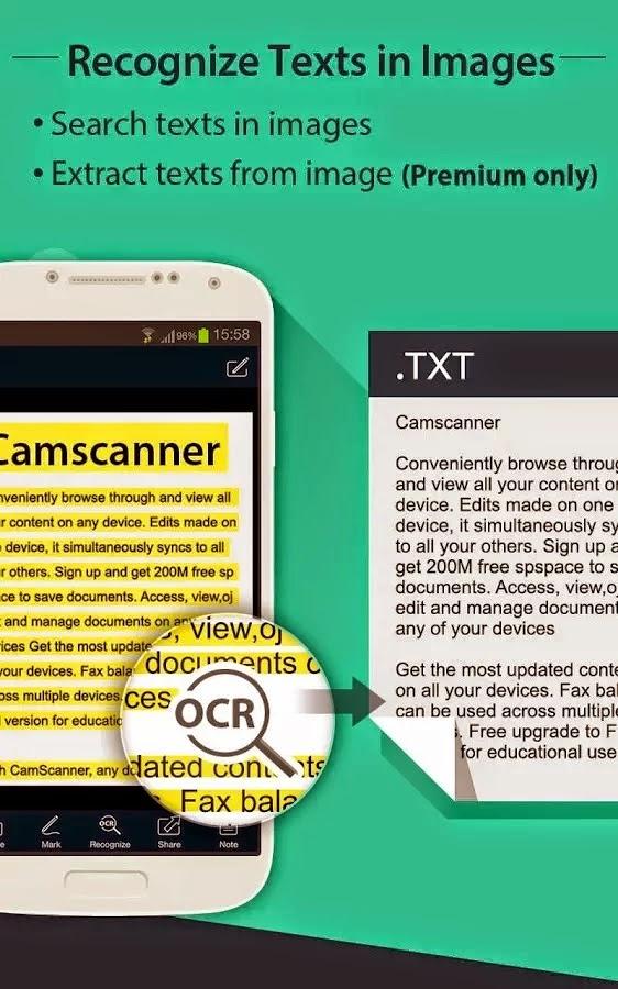 CamScanner Phone PDF Creator FULL v3.9.1.2015100
