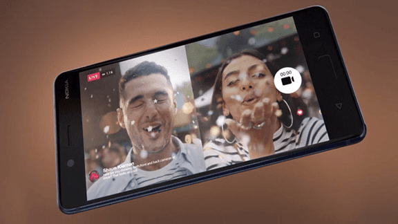 كيف تلتقط صورة من الكمرا الامامية و الخلفية معاً مثل هاتف Nokia x6!