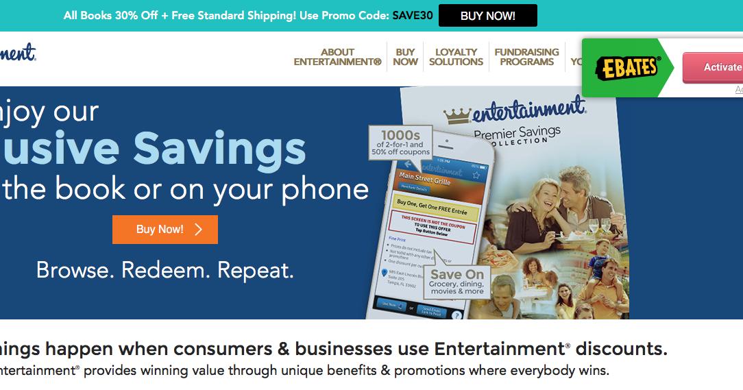 entertainment book travel coupon codes