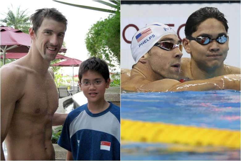 Young Swimmer Inspired by Michael Phelps Beats Him in the Rio Olympics