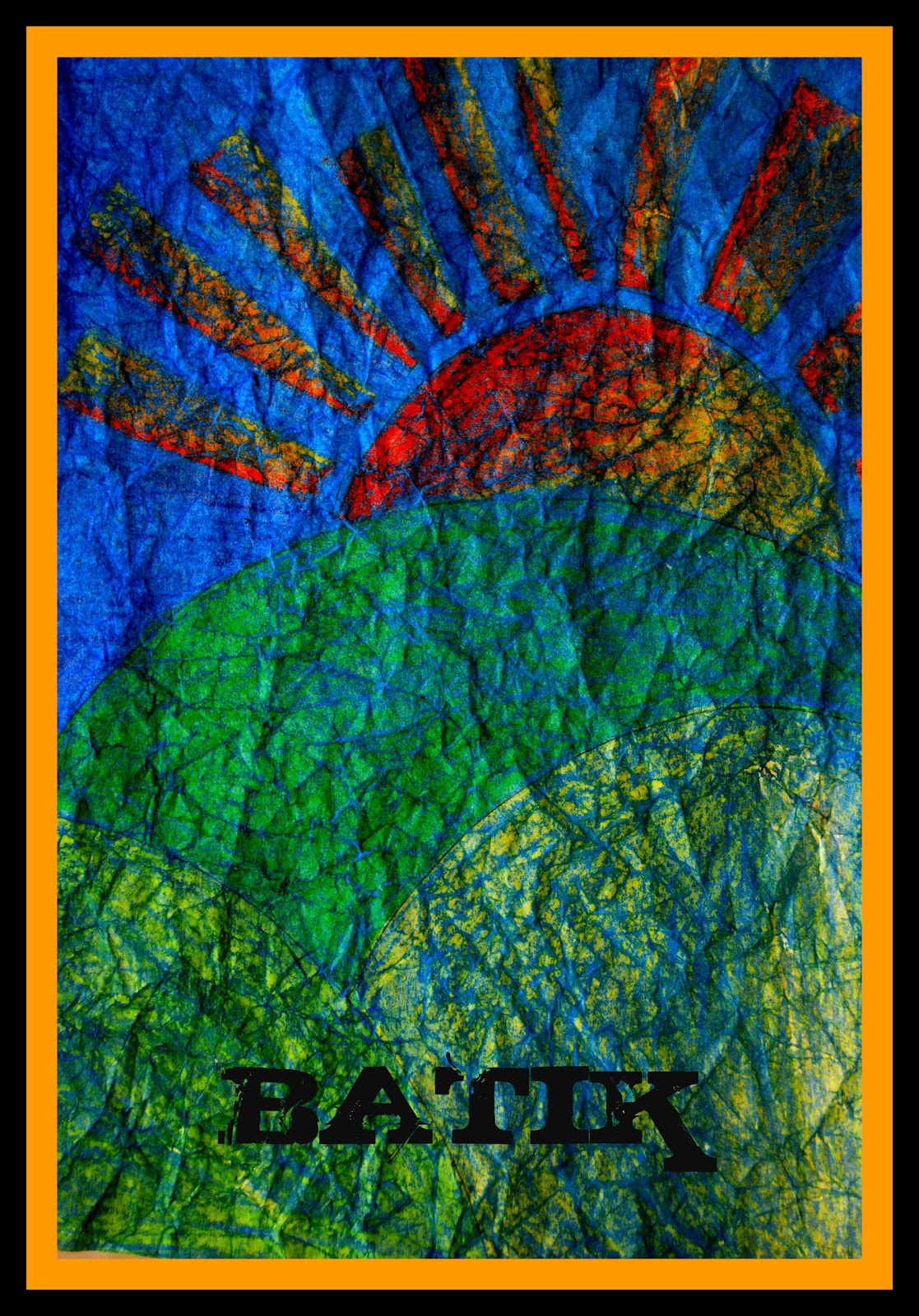 Art With Aubrey: Batik