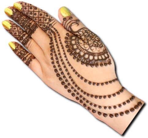 Latest Jewellery Henna Design
