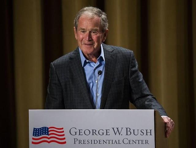 George W. Bush volt amerikai elnök gratulált Joe Bidennek