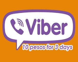TNT Viber10 - 3 days Viber Promo for only 10 Pesos