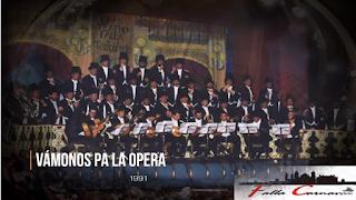 """Pasodoble """"A mi Dios me dio la suerte"""" con Letra. Coro """"Vamos a la ópera"""" (1991)"""