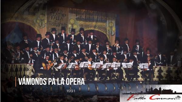 """🌏Pasodoble """"A mi Dios me dio la suerte"""" con Letra🌞. Coro """"Vamos a la ópera"""" (1991)"""