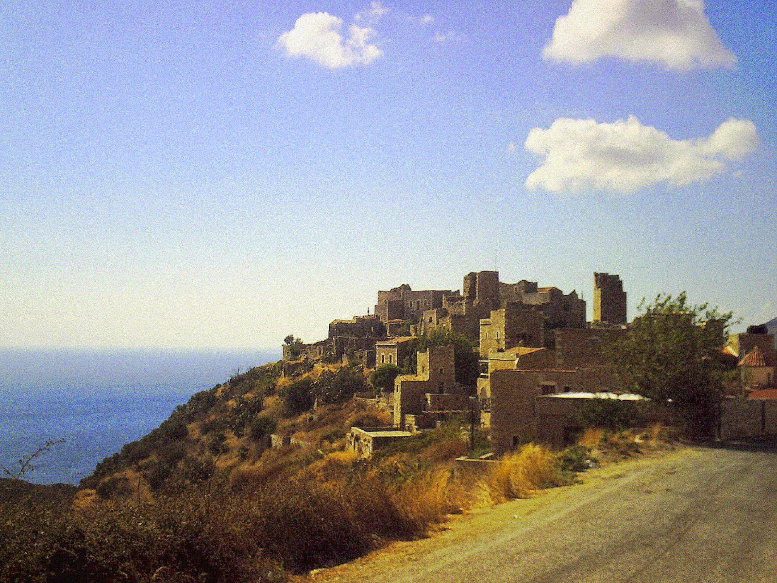 Vathia, Península de Mani, Pelopones, Grecia