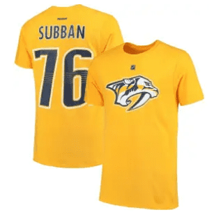 women's from $1.60, men's from $3.20, NHL Clearance T-Shirts