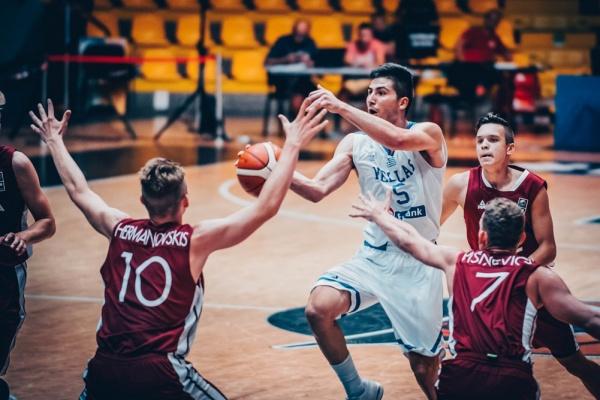 Ευρωπαϊκό Εφήβων U18: Ελλάδα-Λετονία 71-65.  Πρόκριση στους οκτώ η εθνική. Με την Τουρκία αγωνίζεται την Παρασκευή (4/8, 14.30) για μια θέση στα ημιτελικά. Το video του αγώνα.
