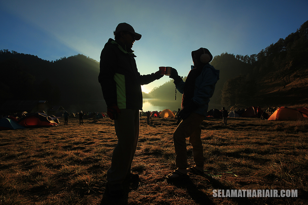 Foto Prewedd di Gunung Semeru