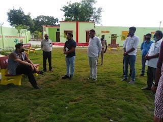 लहलहाते पार्क की तर्ज पर शिक्षा में भी कीर्तिमान हासिल करे विद्यालय : CDO   #NayaSaberaNetwork