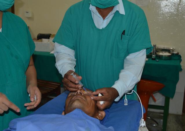 cataracts surgery in rapti eye hospital