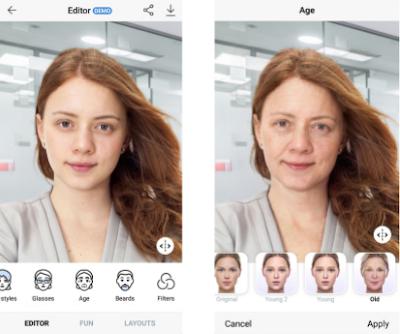 Cara Membuat Foto Wajah Menjadi Tua Dan Muda Menggunakan FaceApp