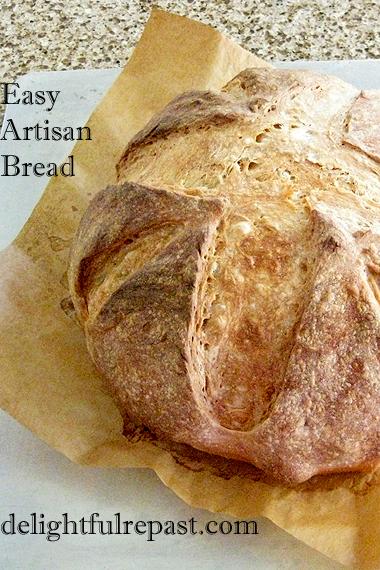 Easy Artisan Bread - Foolproof Artisan Bread / www.delightfulrepast.com