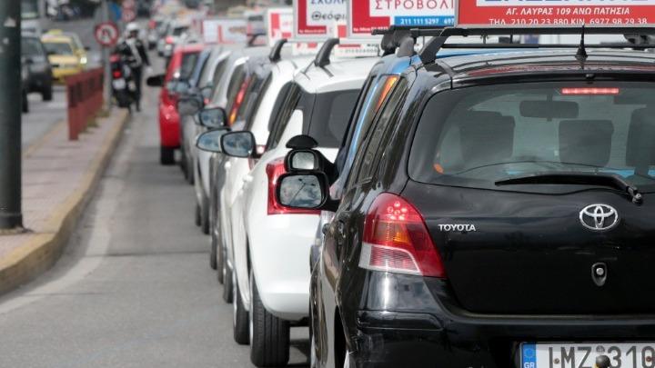 Αυτοκινητοπομπή διαμαρτυρίας εκπαιδευτών σχολών οδηγών από τη Θράκη