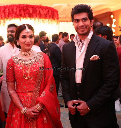 Soundarya Rajinikanth Wedding Reception