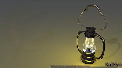 Lámpara de Queroseno - 002 - 001 - Render