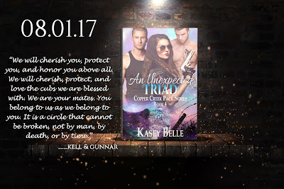 EskieMama & Dragon Lady Reads New Release Spotlight w/Giveaway: An Unexpected Triad by Kasey Belle