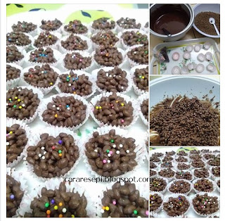 Bubble Rice Cookies Resepi