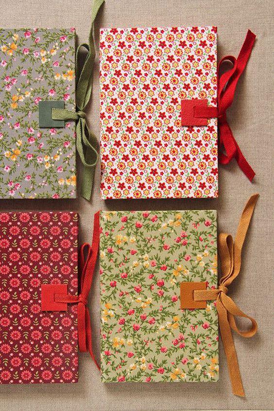 idéias para decorar cadernos