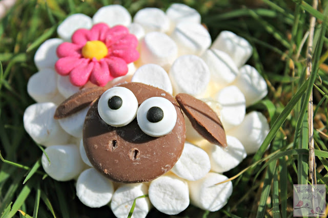 Sheep Cupcake Recipe for Spring or Easter