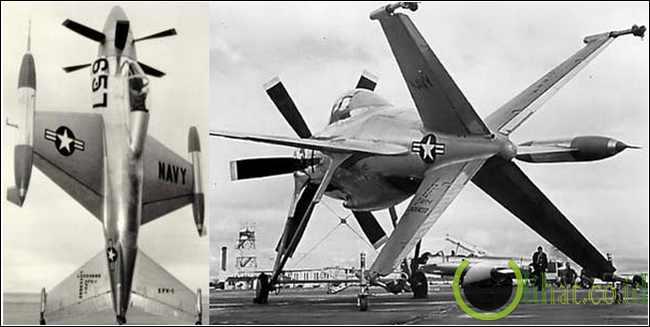 The Lockheed XFV (1954)
