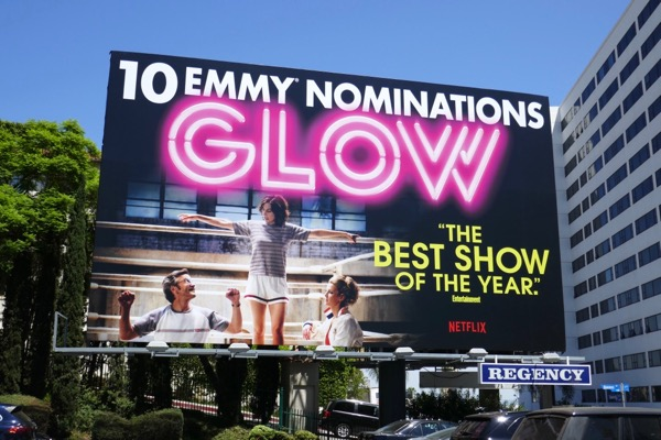 GLOW 2018 Emmy nominee billboard