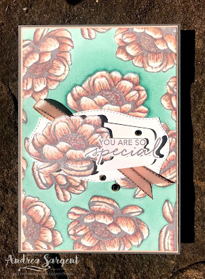 Tasteful Textures, Andrea Sargent, Stampin Up, Art With Heart, AWHT, Colour Creations, Creative Showcase, blog hop, Basic Gray, Tasteful Labels