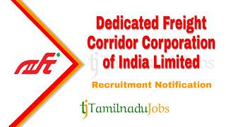 DFCCI recruitment notification 2020, govt jobs in India, central govt jobs, govt jobs for graduate,