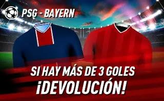 sportium promo PSG vs Bayern 13-4-2021
