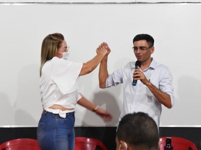 Solidariedade lança Alex e Mary Borges como candidatos a Prefeito e Vice em Rosário Oeste. PL segue junto