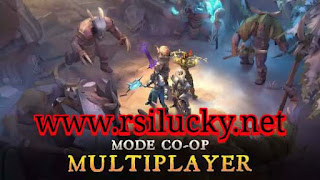 Download Game RPG HD Dungeon Hunter 5 Apk+Data Mod Rapid Attack