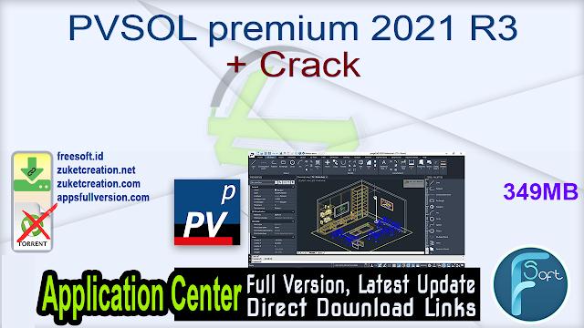 PVSOL premium 2021 R3 + Crack