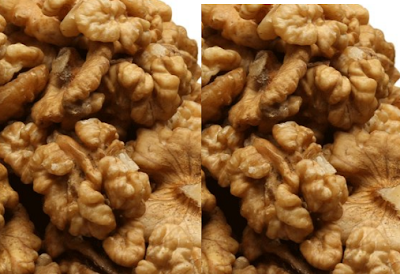 Walnut (Akhrot) dry fruit Treats or cure skin inflammation