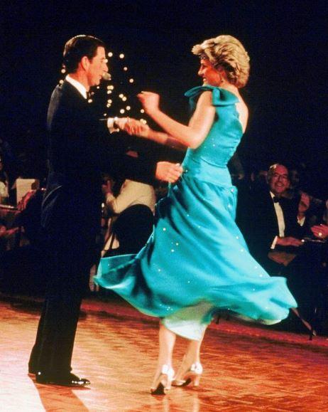 Charles e Diana anos 80
