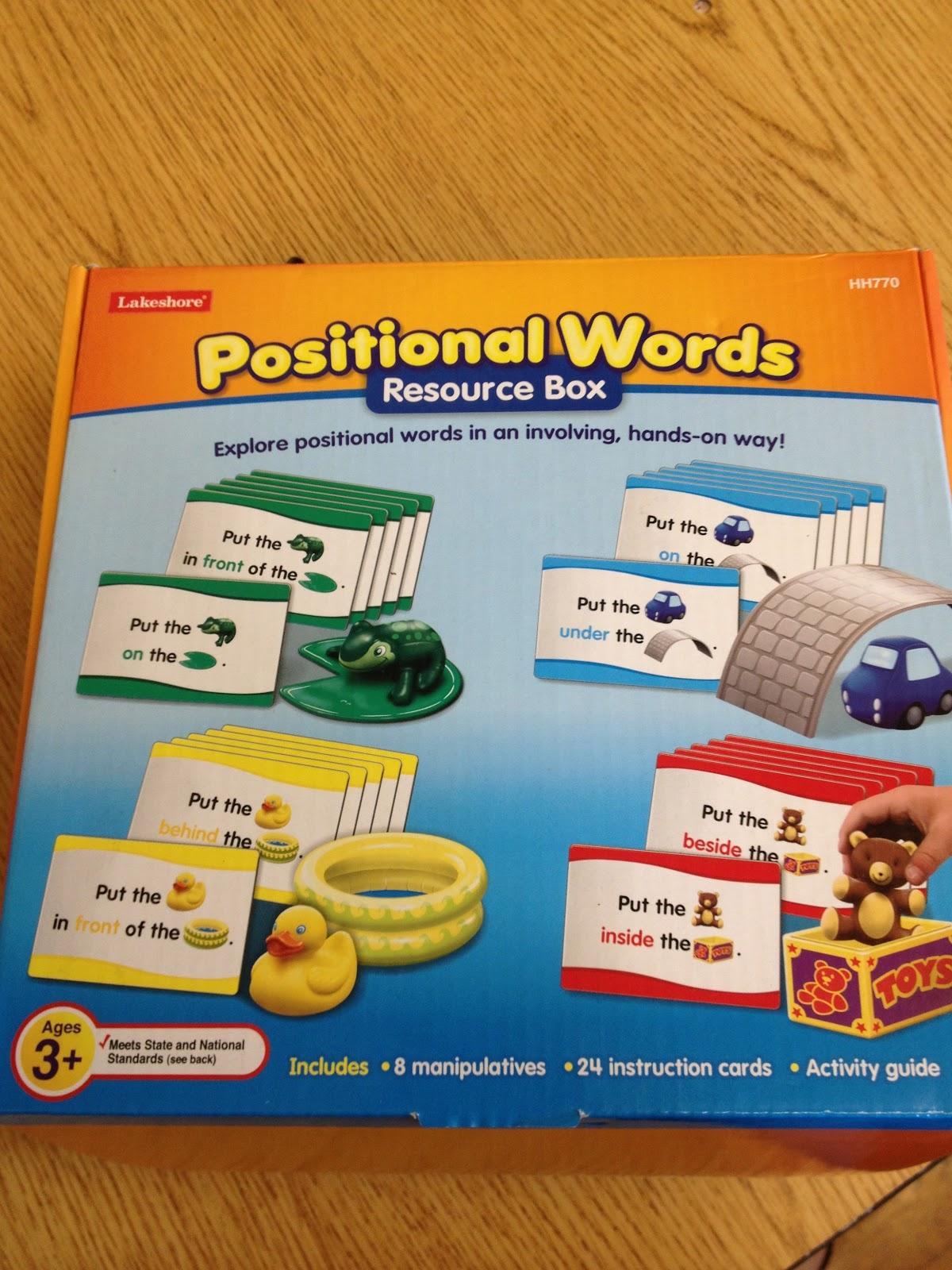 Autism Tank Preposition Activity