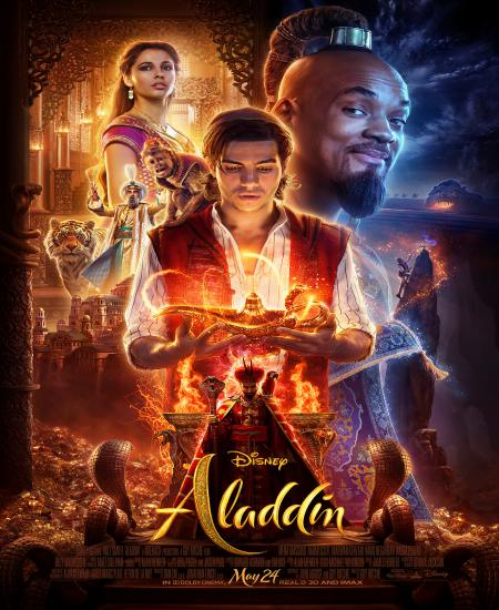 Aladdin 2019 Dual Audio [Hindi-English] 480p BluRay 360MB ESub