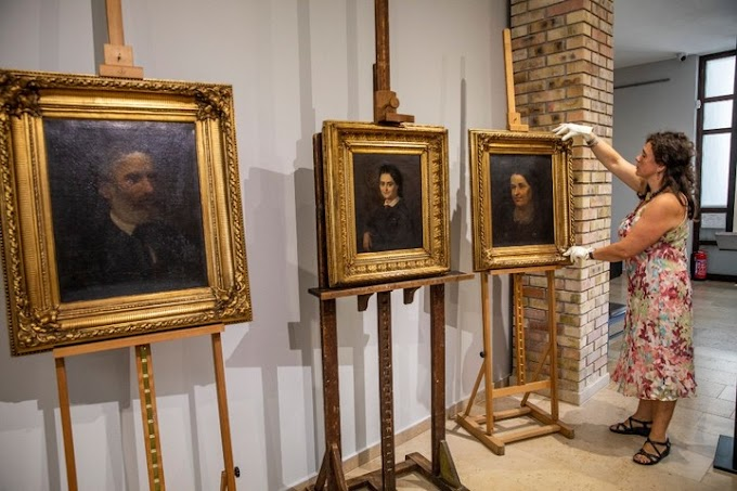 Három új eredeti festménnyel gyarapodott a békéscsabai Munkácsy Mihály Múzeum gyűjteménye