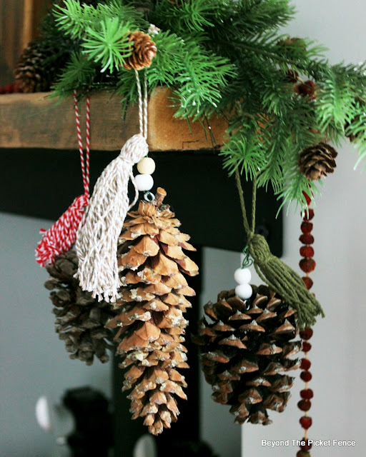 Use Found Items to Make Simple Ornaments