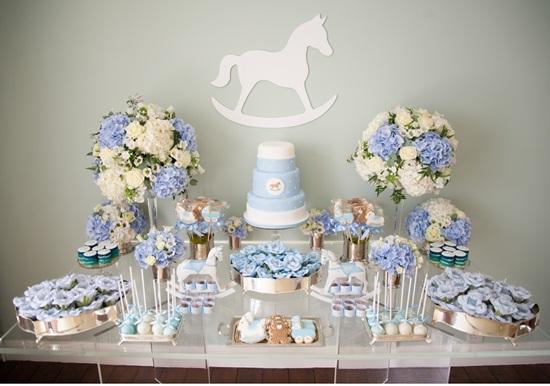 Bautizo Decoracion Elegante ~ 28 ideas para decorar mesas de dulces de todo tipo ~ Im?genes